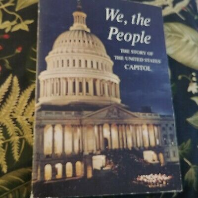 We, The People The Story Of The United States Capitol; Soft Cover; VGUC; 1964
