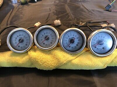 Blitz Racing - Oil Pressure - Exhaust Temp- Oil And Water Temp Gauges