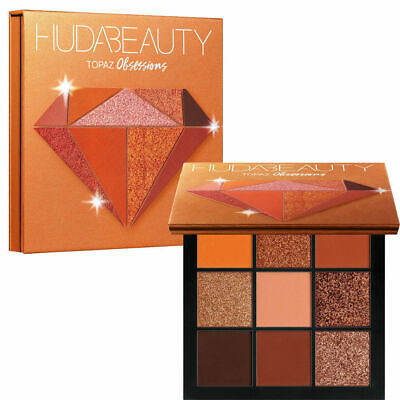 NEW Huda Beauty Topaz Obsessions Eyeshadow Palette Precious Stones Collection UK