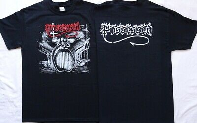 Possessed Beyond the Gates Official T-Shirt Death Metal Classic Neu &Größe Size