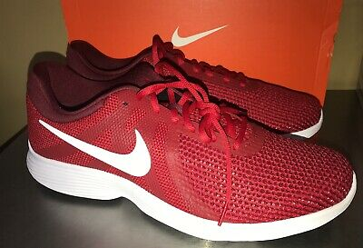 NIKE Revolution 4 RUNNING SHOES MENS SIZE 13 RED White  NEW ATHLETIC 908988  600 ab7ed05a80