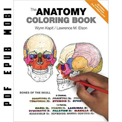 The Anatomy Coloring Book 4th Edition (eBooᴋs, PDF & Kindle Edition 2013)