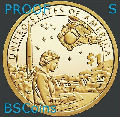 2019 S NATIVE AMERICAN Sacagawea SPACE Program PROOF Dollar - PRESALE