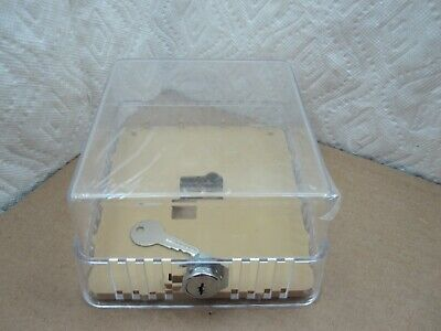 White Rodgers Thermostat Guard Clear Case Lock & Key F29-0227