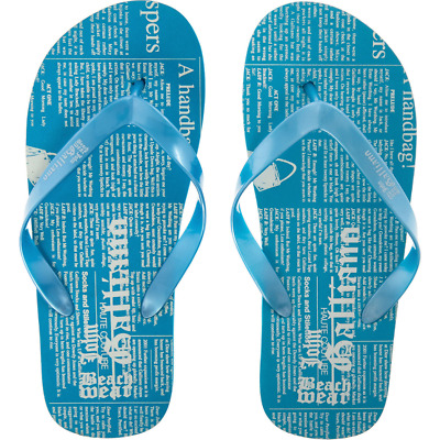 Mens John Galliano Flip Flops Turquoise  41 , 44 , 45. New with Tags