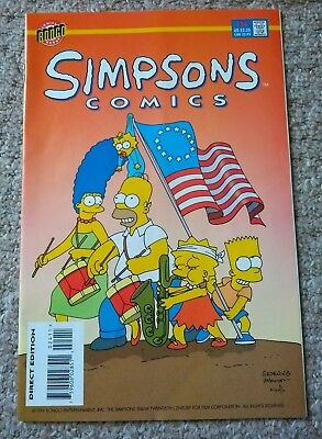 SIMPSONS COMICS # 24 (1996)  BONGO COMICS (VFN condition)