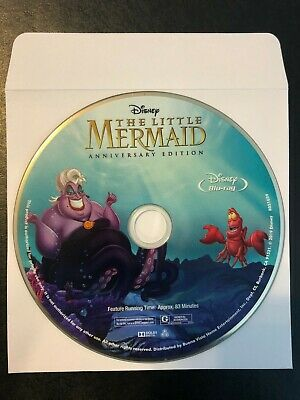 The Little Mermaid Signature Collection (Blu-ray Disc Only) 30th anniversary