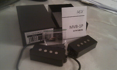 Maida Vale MVB-1P Low Rider P-Bass Pickup Alnico 4 (A4) 4 Conductor