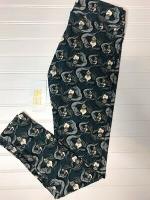 9dabb317f8fb6e NEW! Lularoe Disney OS Leggings Villains Ursula Little Mermaid Flotsam  Jetsam