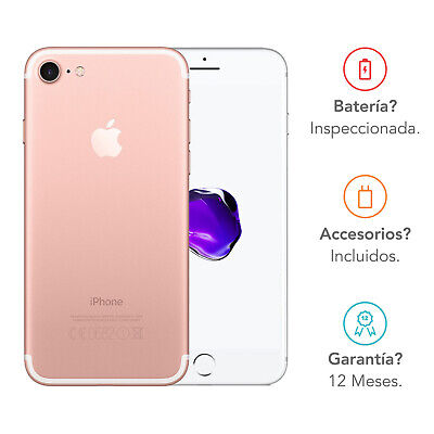 Apple iPhone 7 / 128GB / Oro Rosa / Libre