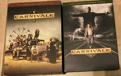 Carnivale The Complete Series Season One 1 & Two 2 12-Disc Set DVD w/Slip Covers