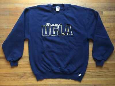 VTG 80s 90s Russell Athletic Embroidered UCLA Bruins Sweatshirt - XL Made  in USA 4ac5eb1c0