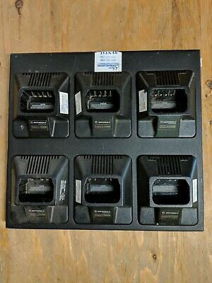 Motorola P1225 Portable 6 Unit Rack Charger