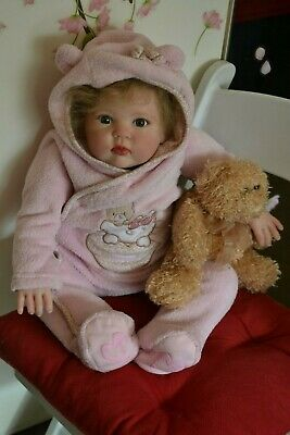 Gorgeous Reborn Baby GIRL Doll ISABELLA was Cuddles by Donna RuBert COMPLETED