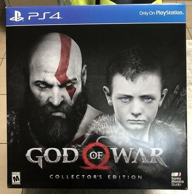 God of War Collector's Edition Playstation 4
