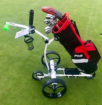 Electric Golf Buggy Traverse + Remote + 24V Lithium + Sold Worldwide