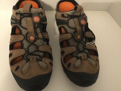 1f1cff1ac40c Merrell Continuum Mens Vibram Sole Brown Trail Hiking Sport Sandals 10 no  strap