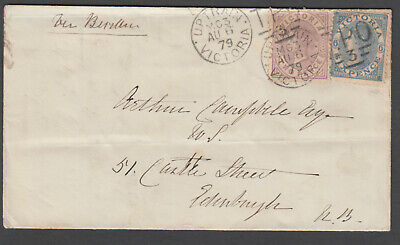 Victoria TPO - 1879 Cover cancelled TPO3-Up2a (rated S)