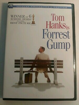 Forrest Gump - Tom Hanks - DVD 2-disc Special Collector's Edition