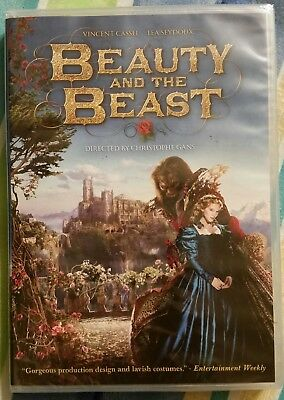 Beauty And The Beast (DVD, 2014) Vincent Cassel  *BRAND NEW* SHIPS FAST MON-SAT!