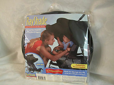 ac19178f924 NEW KIDDOPOTAMUS RAYSHADE UV Protective Stroller Shade Cover Black ...