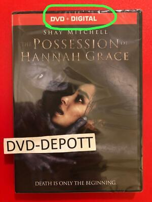 The Possession of Hannah Grace DVD + DIGITAL {{AUTHENTIC DVD READ}} New Free Shp