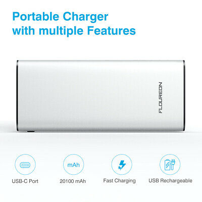 20100mAh PD18W Power Bank Portable USB Battery Charger For iPhone Samsung Tablet