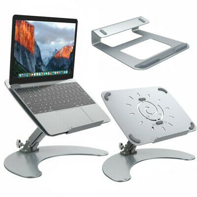 Laptop Stand For MacBook Pro Air Cooling Adjustable Notebook Holder Tray 11-17""
