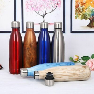 0.35-1L Double Walled Vacuum Insulated Stainless Steel Water Drinks Sport Bottle