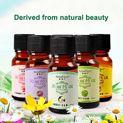 10ml Natural Pure Essential Oil Aromatherapy Body Massage Bath Health Care