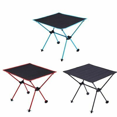 Camping Folding Table Aluminum Alloy Portable Lightweight Oxford Cloth Aviation