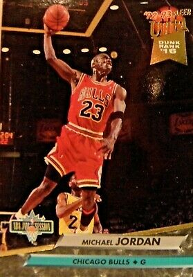 MICHAEL JORDAN 1992-93 Fleer  273 Slam Dunk PSA 10 Gem come Nuovo ... c1653b200448