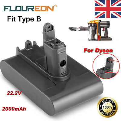 22.2V 2.0Ah Replacement Battery For Dyson DC34 DC31 DC35 DC44 Animal DC45 Type B