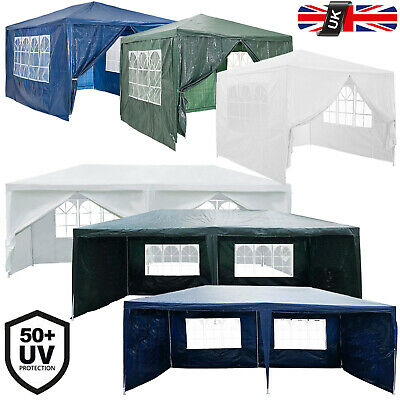 Party Tent Outdoor PE Garden Gazebo Marquee Canopy Awning With Full Sidewall