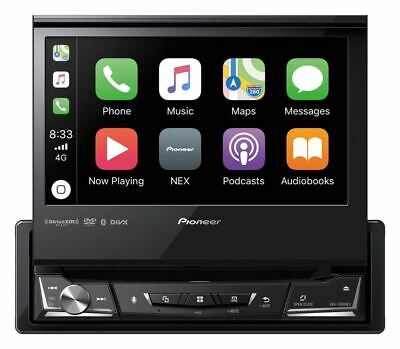 Pioneer AVH-3500NEX 1 DIN DVD/CD Player Flip Up Bluetooth Android Auto CarPlay