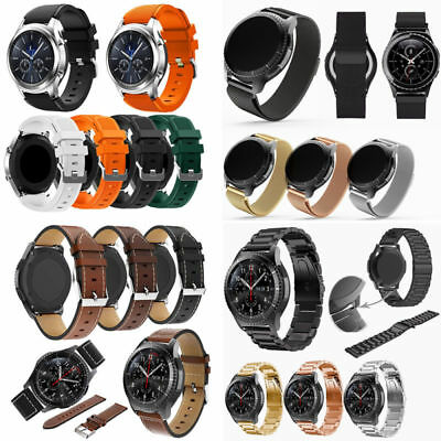 For Samsung Gear S3 Classic/Frontier Metal/Silicone/Leather Watch Band Strap22mm