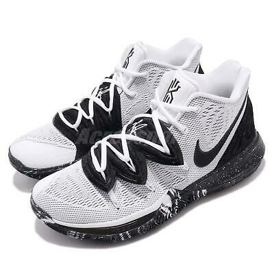 new style 0ebff b775b Nike Kyrie 5 EP V Irving Oreo Cookies White Black Basketball Shoes AO2919 -100