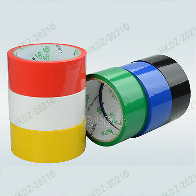 Color Parcel Packing Packaging Tape Sellotape Carton Sealing 40M/Roll 0.05mm T