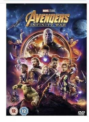 Avengers Infinity War DVD - New Sealed - Free P&P