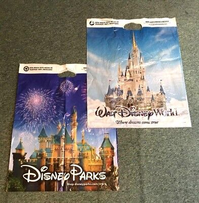 Retro vintage Walt Disney World carrier bags - great collectable!