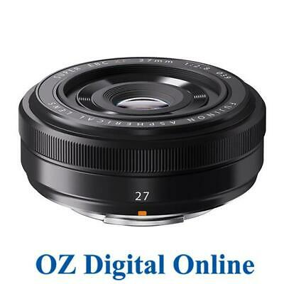 NEW Fujifilm FUJINON XF 27mm F2.8 Black Lens 1 Year Aust Wty