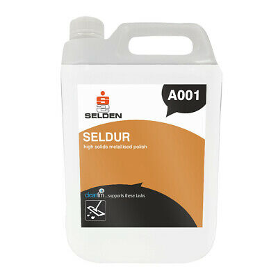 Selden Seldur High Solids Metallised Floor Polish (5 Litres)