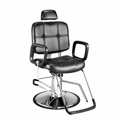 Hydraulic Barber Chair Reclining Salon Beauty Spa  Hairdressing Threading Seat
