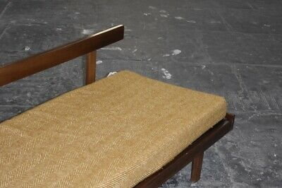 Guy Rogers Bench. Rare Vintage Retro Mid Century Teak Bench Daybed Sofa