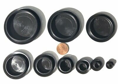 50 Piece Flush Mount Hole Plastic PLUGS Assortment for Auto Body n Sheet Metal