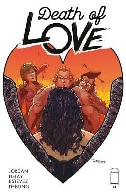 Death of Love #4 Image  Comics 1st Print 2018 COVER A