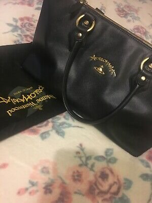 095f618b0e0 VIVIENNE WESTWOOD BLUE Handbag & Dust Bag - £27.70 | PicClick UK