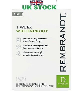 Rembrandt 1 Week Teeth Whitening Kit, 14 Treatments