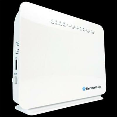 Netcomm NF10WV ADSL/VDSL Wi-Fi Modem Router with VOIP, Wireless-N300, 4 x LAN, 1