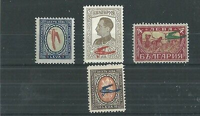 Bulgaria 1927 Air Set Fresh Mnh**